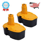 2PACK 18Volt Ni-Cd Battery for Dewalt DC9096 DW9096 DW9095 2000mAh 388683-12