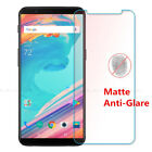 2x4x Matte/Anti-Glare Front Screen Protector Film Guard Cover For OnePlus 5T Lot