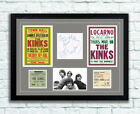 The Kinks Concert Poster Tickets Autographs Memorabilia Poster 1960's Ray Davies