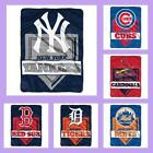 MLB Licensed Home Plate Raschel Plush Afghan Throw Blanket - Choose Your Team on Ebay