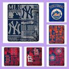 MLB Licensed Strength Marque Soft Fleece Plush Throw Blanket - Choose Your Team on Ebay