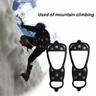 Ice Climbing Crampons 8 Studs Anti-Skid Ice Snow Field Shoes Spikes Grips LS