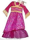 Mulan Princess Oriential dress up party Costume outfit Traditional Chinese Dance