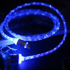 LED Lighting Micro USB Charging Data Sync Cable for iPhone Huawei Android New