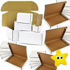 WHITE SHIPPING BOXES POSTAL MAILING GIFT PACKET SMALL PARCEL STRONG CARDBOARD