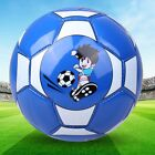 Size 2 Standard PU Leather Soccer Ball Training Football With Net Needle SY