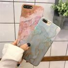 Slim Granite Marble Pattern Hard PC Phone Case Cover For iPhone 6 6S 7 7 8 Plus