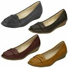 Spot On Womens Moccasin Shoes