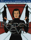 The Resident Evil Collection (Blu-ray Disc, 2012, 5-Disc Set)