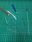 Splicing Gear: Pull Fids, Paracord Needle, Bodkins, Loop Turner, Knitting Needle