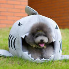 Vogue Unique Shark Mouth Pet Dog Cat House Removable & Washable Dog Bed Kennel