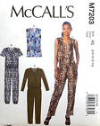 MCCALL' S PATTERN ROMPER & JUMPSUIT LOOSE FITTING SIZE 6-14 # M7203
