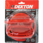 Dekton LARGE Dent Puller & Suction Cup  100mm 4 Heavy Duty Bodywork Removal