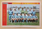SHOOT football magazine team / squad A3 picture Manchester City - VARIOUS