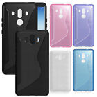 For Huawei Mate10 Mate10 pro Glossy Rubber Brushed TPU Gel skin case cover