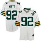 Reggie White #92 Green Bay Packers Mens Retired Player Throwback White Jersey on eBay