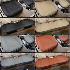 Car Bamboo Charcoal Full Surround Seat Cover Pad Mat PU Leather Protect Cushion
