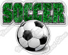 "Soccer Ball World Cup Football Sport Lawn Car Bumper Vinyl Sticker Decal 5""X4"""