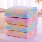 Square Towels Cotton gauze Plaid Towel Kids Bibs Daily Use H