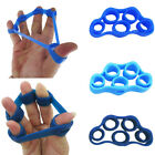 finger exercises - 2PCS Hand Finger Band Strength Exerciser Trainer Strengthener Grip Resistance US