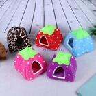 Strawberry Pet Dog Cat Puppy Bed House Kennel Warm Cushion Basket Pad Nest Igloo
