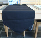 BLACK COTTON TABLE RUNNER