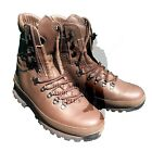 Altberg Defenders Combat Boots Brown Leather British Army Surplus Mens