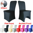 1/4/10/50/100 Spandex Chair Covers Lycra Wedding Dining Slip Seat Covers Party