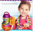 D01 Kids Children Plastic DIY Puzzles Pop Bead Party Play Jewery Educational Toy