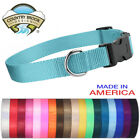 blue colored dog - Country Brook Design® Economy Nylon Dog Collars-Various sizes & colors available