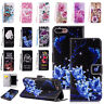 Flip Pattern Leather Case Wallet Stand Cover For iPhone 11 Pro Max/Xs/Xr/8+/7/6s