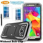Protective Hybrid Hard Belt Clip Case Cover For Samsung Galaxy Grand Prime G530