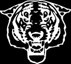 Tiger 1 Color Window Wall Vinyl Decal Sticker Printed Mascot Graphic