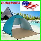 Portable Pop Up Beach Canopy Sun Shade Shelter Outdoor Camping Fishing Tent US
