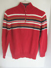 Boys Canyon River Blues Red Sweeter Size M