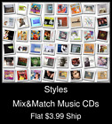 Styles(59) - Mix&Match Music CDs - $3.99 flat ship