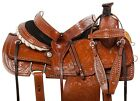 15 16 WESTERN RANCH ROPING ROPER COWBOY HORSE LEATHER SADDLE TACK RAWHIDE