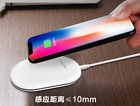 Qi Wireless Charger Pad for iPhone X 8 Samsung Galaxy S8 Note Mobile Cell Phone