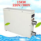 Swimming Pool Thermostat Equipment Electric Water Heater Tools 15KW 220V/380V YR