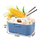 Car Large Capacity Stainless Steel Frame Lunch Box Heater Portable 3 Colors YR
