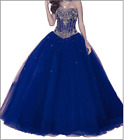 Quinceanera Dress Formal Prom Party Pageant Ball Evening Dresses Bridal Gowns