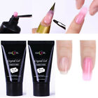 30ml Poly Extension Gel Quick Building Finger Nail Gel  UV LED Tools