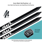 Avon MARK GEL PENCIL ~Blackout was SuperShock GEL PENCIL Pick Qty 1~2~3 Free P