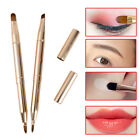 Double-headed Brush Retractable Lip Brush Eye Liner Eyeshadow Eyebrow Brush US