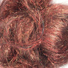 Angelina Fiber - Red with Forest Blaze - Spinning Fiber - Sparkle Fiber