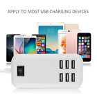 Milti-use 6-Ports USB Desktop Charger Charging Station Power Adapter US Plug New