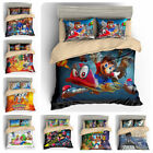 3D Sonic Super Mario Pokemon Print Bedding Set Quilt/Duvet Cover Pillowcase
