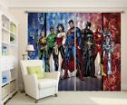 3D Boys Heroes Blockout Photo Curtain Printing Curtains Drapes Fabric Window AU