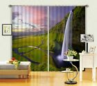 3D Waterfall 26 Blockout Photo Curtain Printing Curtains Drapes Fabric Window AU