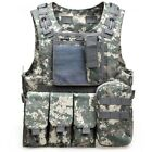 Outdoort Hunting Fishing Accessories Camouflage Vest Amphibious Multi Pockets